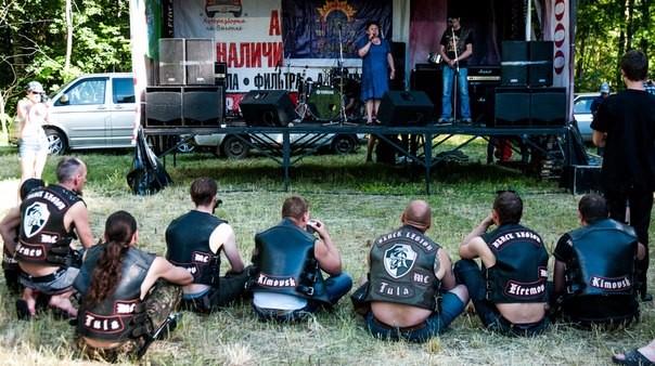 Байк-рок-фестиваль под Мценском